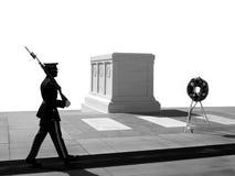 Tomba del soldato sconosciuto, cimitero nazionale di Arlington fotografia stock