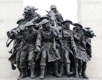Tomba del soldato sconosciuto, Ottawa, Canada immagine stock libera da diritti