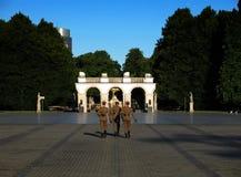 Tomba del soldato sconosciuto (Varsavia) Immagini Stock