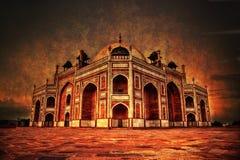 Tomba Delhi del ` s di Humayun fotografie stock libere da diritti