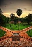 Tomba Delhi del ` s di Humayun immagine stock