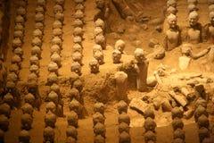 Tomba dell'imperatore Jingdi, Xian (Cina) fotografia stock libera da diritti