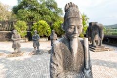 Tomba dell'imperatore nella tonalità, Vietnam di Khai Dinh fotografia stock libera da diritti