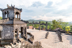 Tomba dell'imperatore nella tonalità, Vietnam di Khai Dinh fotografia stock