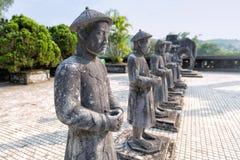 Tomba dell'imperatore nella tonalità, Vietnam di Khai Dinh fotografie stock