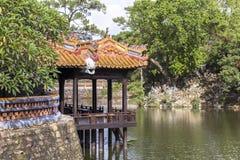 Tomba dell'imperatore Tu Duc nella tonalità, Vietnam immagine stock libera da diritti