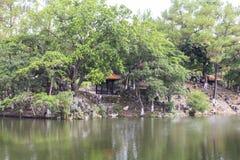 Tomba dell'imperatore Tu Duc nella tonalità, Vietnam fotografia stock