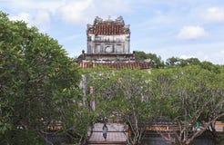 Tomba dell'imperatore Tu Duc nella tonalità, Vietnam immagini stock libere da diritti
