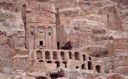 Tomba dell'urna, PETRA, Giordania Immagine Stock Libera da Diritti