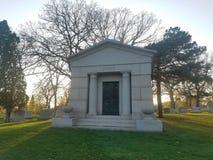 Tomba della tomba e del cimitero immagine stock