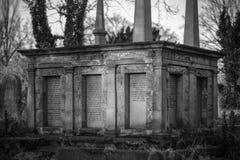 Tomba della famiglia Fotografia Stock