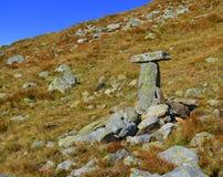Tomba dello scalatore Immagini Stock Libere da Diritti