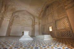 Tomba di Akbar il grande alla fortificazione di Sikandar Fotografia Stock Libera da Diritti