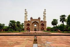 Tomba di Akbar le grande fotografia stock libera da diritti