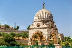 Tomba di Al-baccano di Mujir a Gerusalemme immagini stock libere da diritti