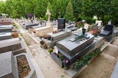 Tomba di Edith Piaf Immagine Stock