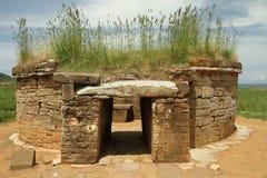 Tomba di Etruscan fotografia stock libera da diritti
