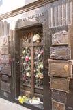 Tomba di Evita Peron e di Duarte Family con nessuno Fotografia Stock Libera da Diritti