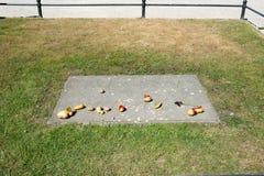 Tomba di Frederick il grande fotografia stock
