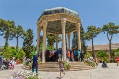 Tomba di Hafez fotografia stock