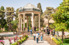 Tomba di Hafez Poet fotografie stock libere da diritti