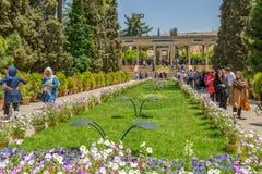 Tomba di Hafez Poet fotografia stock