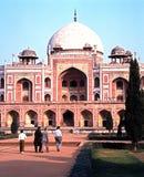 Tomba di Humayun, Delhi, India Fotografie Stock Libere da Diritti