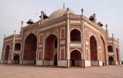 Tomba di Humayuns, Delhi fotografie stock libere da diritti