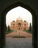 Tomba di Humayuns Delhi - in India Fotografie Stock Libere da Diritti