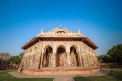 Tomba di Isa Khan a Delhi, India immagini stock libere da diritti