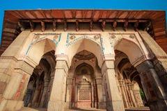 Tomba di Isa Khan a Delhi, India fotografia stock libera da diritti