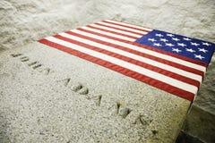 Tomba di John Adams Immagine Stock Libera da Diritti