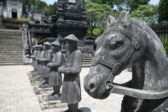 Tomba di Khai Dinh Fotografia Stock