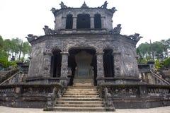 Tomba di Khai Dinh immagini stock libere da diritti