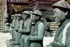 Tomba di Khai Dinh, Hue City Immagini Stock Libere da Diritti