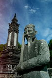 Tomba di Khai Dinh, Hue City Immagine Stock