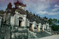 Tomba di Khai Dinh, Hue City Fotografie Stock Libere da Diritti