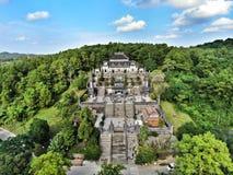 Tomba di Khai Dinh King fotografia stock