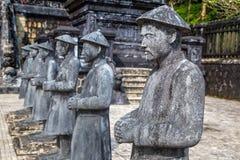 Tomba di Khai Dinh nella tonalità, Vietnam immagine stock