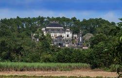 Tomba di Khai Dinh, tonalità, Vietnam. Sito del patrimonio mondiale dell'Unesco. immagine stock