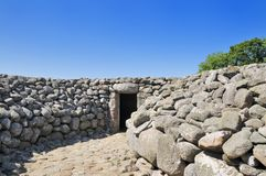 Tomba di Kivik Fotografia Stock