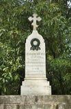 Tomba di massa dei soldati di 14 corpi d'armata Varna bulgaria Fotografia Stock
