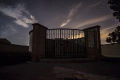 Tomba di massa della guerra civile spagnola a Belchite fotografie stock