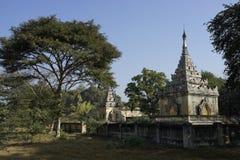Tomba di Mindon Min King a Mandalay, Myanmar (Birmania) Fotografia Stock Libera da Diritti