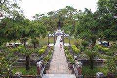 Tomba di Minh Mang King nella tonalità, Vietnam fotografia stock libera da diritti