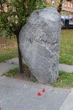 Tomba di Olof Palme immagine stock libera da diritti