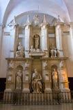 Tomba di papa Giulio II immagini stock