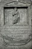 Tomba di pietra del greco antico Immagini Stock Libere da Diritti