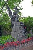 Tomba di Piotr Ilyitch Tchaikovsky Immagini Stock Libere da Diritti