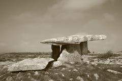 Tomba di Poulnabrone Fotografia Stock Libera da Diritti